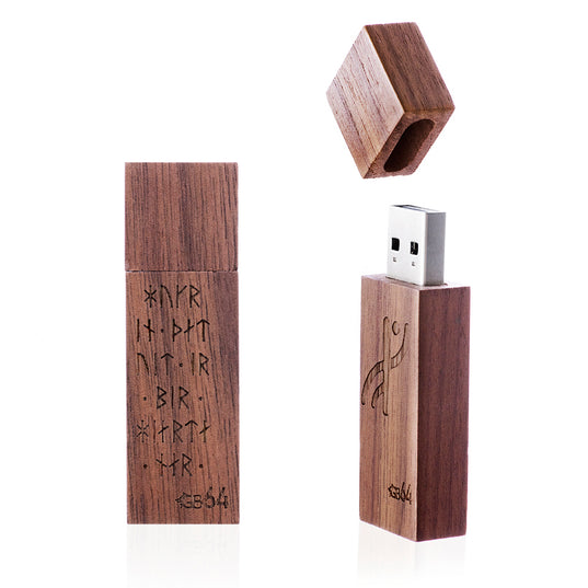 USB Flash Drives - USB Flash Drive 64GB, Runes - Grimfrost.com