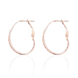 - Banded Earrings, Rose Gold - Grimfrost.com