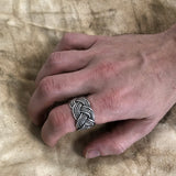 Rings - Knotwork Ring, Silver - Grimfrost.com