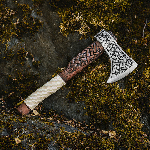 Foam Viking Hand Axe