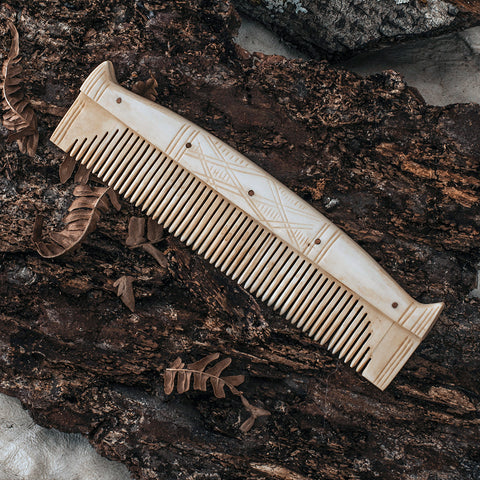 Birka Warrior Comb, Bone