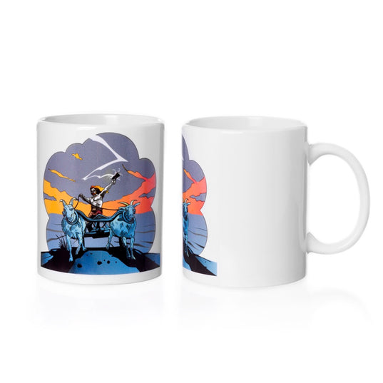 Mugs and Bottles - Coffee Mug, Thor Rides - Grimfrost.com