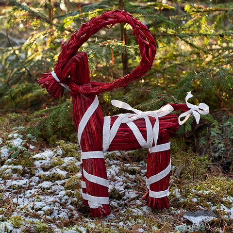 Yule Goat, Large, Red