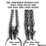 Sets & Bundles - Wolf King Chain, Set 2, Stainless Steel - Grimfrost.com