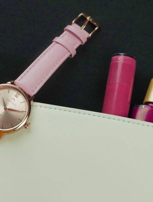 Eden Rose - Women's Rose Gold & Pink Watch