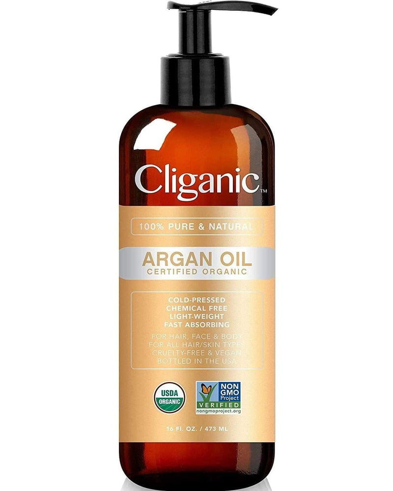 Cliganic 100% Pure Organic Argan Oil 16oz