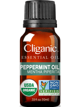 Cliganic 100% Pure Organic Peppermint Oil 0.33oz