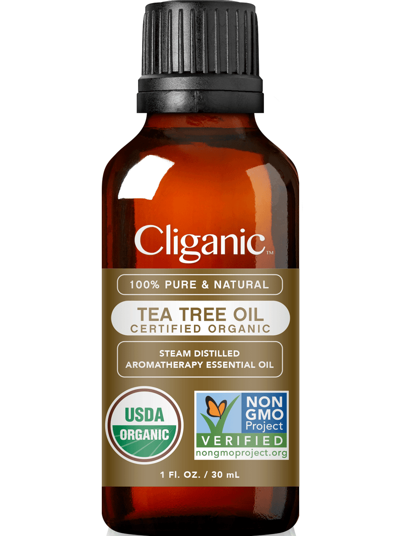 Cliganic 100% Pure Organic Tea Tree Oil 1oz
