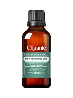 Cliganic™ 100% Pure Peppermint Oil