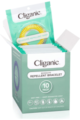 Cliganic Mosquito Repellent Bands, 10 Pack