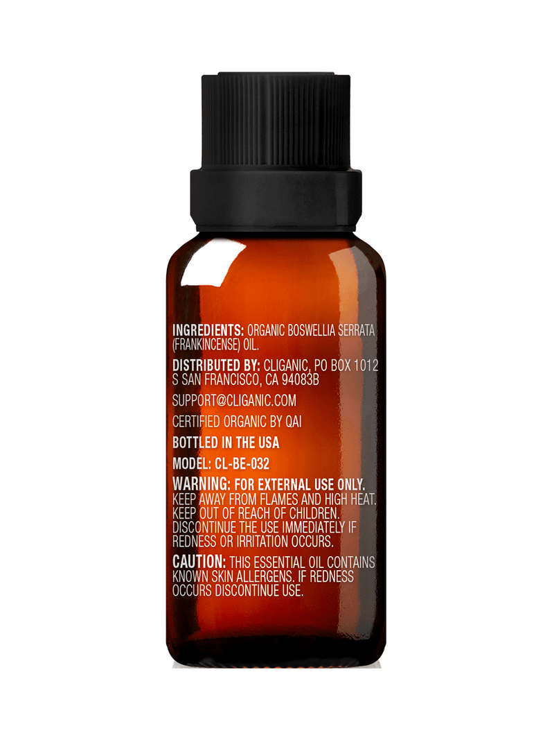 100% Pure Organic Frankincense Oil