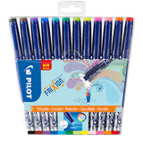 Pilot Frixion Erasable Fineliners Pack of 12 Assorted