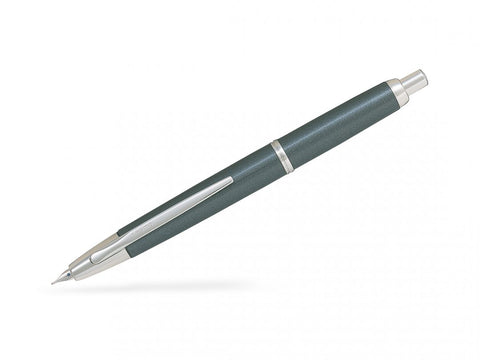 Pilot Capless Decimo Vanishing Point Retractable Fountain Pen Grey/Rhodium Trims