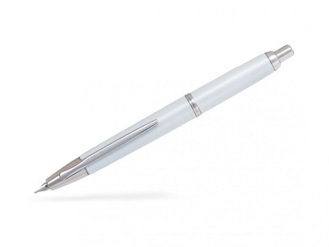 Pilot Capless Decimo Vanishing Point Retractable Fountain Pen White/RhodiumTrims