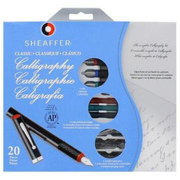 Sheaffer Calligraphy Maxikit - 3 Pens, 3 Nibs, 14 Cartridges + Instructions