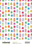 "Instawrap ""Gifts Galore"" Lick & Stick Wrapping Paper"