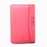 Collins Elite Padded Address Book Pink CL165 Slim Business Credit Card pockets