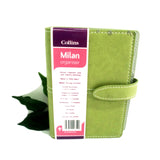 Collins Milan Organiser Pocket Size Diary Pink Lilac Green Address Book