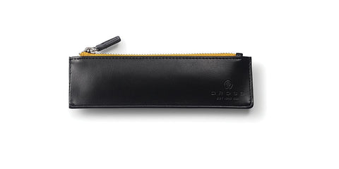 Cross Leather Pen Pouch with Trackr Bravo Chip in Black, Crimson or Midnight Blue