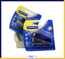 Rapesco Bug Stapler & Remover Staple 26/6 in 2 Colours Blue-y Green-y WSR700A3