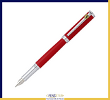 Sheaffer Ferrari Intensity Satin Red Fountain Pen with Chrome Trims