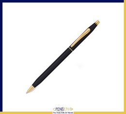 CROSS Classic Century Ballpoint Pen Classic Black with 23 CT Gold-Plated Trims