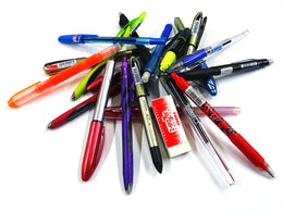 Zebra Pens, Pencils and Highlighters x20 Random Bundle Pack in Assorted Colours - Great Value