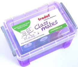 Trodat Classmates Box of 6 or 12 Teacher Stamps Pre-Inked