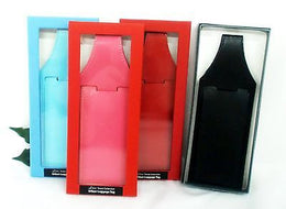 Grandluxe Luggage Tag Available in 4 Colours in Soft Faux Leather