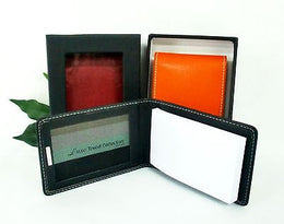 Grandluxe Mini Memo Pad Folder Available in 3 Colours in Soft Faux Leather