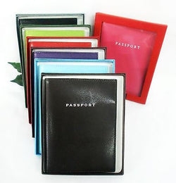 Grandluxe Passport Holder Available in 5 Colours in Soft Faux Leather