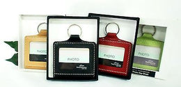 Grandluxe Photograph Keyring in Soft Faux Leather in 4 Colours
