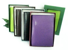 Grandluxe Pocket Note Pad Folder in Soft Feel Faux Leather