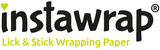 "Instawrap ""Stripes for Him"" Lick & Stick Wrapping Paper"