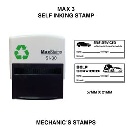 MaxStamp 3 Mechanics Self Inking Stamp