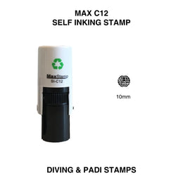 MaxStamp C12 Self Inking PADI Stamp