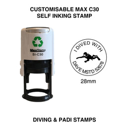 MaxStamp C30 Customisable Diving Stamp