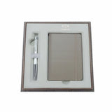 Parker Urban Chiselled Pearl Premium Ballpoint and Notepad Gift Set