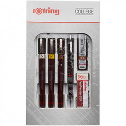 Rotring Isograph College Set of Technical Drawing Pens S0699380