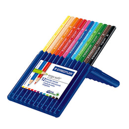 Staedtler Ergosoft Coloured Pencils x12 Assorted Colours 157SB12