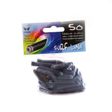 Fountain Pen Ink Cartridge Short Universal Size Assorted, Black or Blue Colours x 50 Surf Line