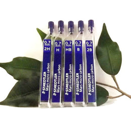 Staedtler Mars Micro Carbon Pencil Leads 0.7mm in HB, H, 2H, B and 2B with Quantity Discounts