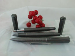 X-Pen Concerto Fountain Pen, Rollerball and Ballpoint Pen Set in Graphite 333A