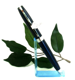 X-Pen Legend Ballpoint Pen in Dark Blue with Chrome Detail 404B