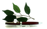 X-Pen Legend Ballpoint Pen in Dark Burgundy with Chrome Detail 405B