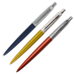 Parker Jotter 125th Anniversary Ballpoint Pen Available in 3 Metallic Colours