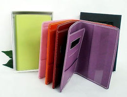 Grandluxe Passport Holder in Soft Feel Plain Faux Leather *Gift Boxed* 6 Colours