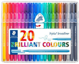 Staedtler Triplus Broadliner Pack of 10 and 20