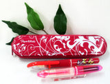 Papermate Handwriting Fountain Pen Set with Pen Case Pink-Special Purchase