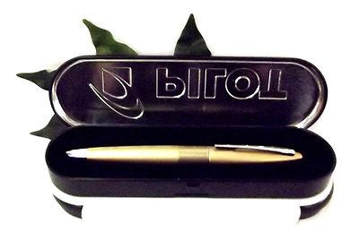 Pilot MR Fountain Pen Rollerball Pen or Ballpoint Pen Matt Gold Body Gift Boxed